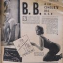 Brigitte Bardot - Cinemonde Magazine Pictorial [France] (23 January 1958) - 454 x 605