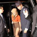 Kourtney Kardashian and boyfriend Younes Bendjima at Halloween bash in LA