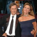 Lasse Hallstrom and Lena Olin