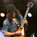 Slash attends the NAMM Tec Awards at the Anaheim Hiltonon on January 24, 2015 in Anaheim, California