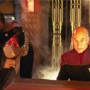 Michael Dorn and Patrick Stewart in Star Trek: Insurrection - 350 x 227