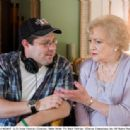 (L-R) Andy Fickman (Director), Betty White. Ph: Mark Fellman. ©Disney Enterprises, Inc. All Rights Reserved.