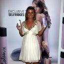 Coleen Rooney - Perfume Launch - Selfridges, Trafford Centre, Manchester