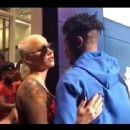 Amber Rose and 21 Savage at His Album Release Party in Playa Vista, California - July 7, 2017