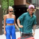 Hailey Baldwin and Justin Bieber – Leaving their apartment in Brooklyn