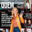 Angélica, Maitê Proença, Luana Piovani, Paulo Vilhena, Carolina Ferraz - Quem Magazine Cover [Brazil] (17 May 2002)