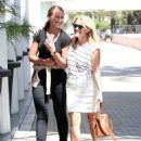Reese Witherspoon is spotted at her office on July 29, 2015 in Beverly Hills California