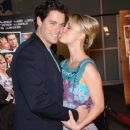 Kaley Cuoco and Jaron Lowenstein