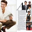 Zac Efron - August Man Magazine [Malaysia] (October 2010)
