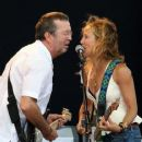 Sheryl Crow and Eric Clapton