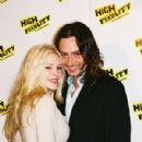Constantine Maroulis and Cynthia Kirchner