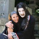 Criss Angel and Joann Sarantakos