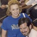 Ian Pangue and Hilarie Burton