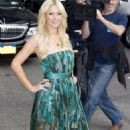Paris Hilton at the late show with David Letterman in NYC, February 17, 2011