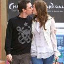 Mandy Moore and Adam Goldstein