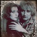 Bebe Buell and Rod Stewart