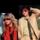 Jimmy Page and Charlotte Martin
