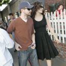Topher Grace and Emmy Rossum