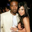 Ray-J and Kim Kardashian