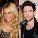 Adam Levine and Jessica Simpson