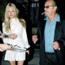 Jack Nicholson and Kate Moss