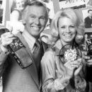 Johnny Carson and Angie Dickinson