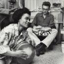 James Dean and Eartha Kitt