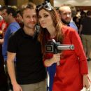 Chloe Dykstra and Chris Hardwick - 424 x 640