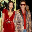 Sasha Volkova and Mickey Rourke