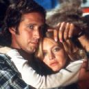 Goldie Hawn and Chevy Chase