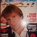 Gérard Depardieu - Video 7 Magazine Cover [France] (May 1987)