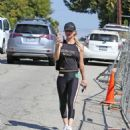 Kaley Cuoco – Hits the gym in LA - 454 x 529