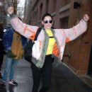 Rose McGowan at The View in NYC - 454 x 613