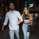 Nikki Sanderson at Neighbourhood Bar and Restaurant in Manchester - 454 x 686