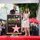 Allison Janney's newly unveiled Star at her Hollywood Walk of Fame star ceremony on October 17, 2016 in Hollywood, California - 454 x 299