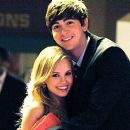 Megan Martin and Nicholas Braun