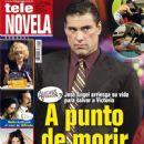 Eduardo Yáñez, Amores verdaderos - Tele Novela Magazine Cover [Spain] (15 October 2012)