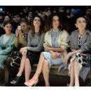 Beren Saat Burberry Prorsum Show (February 17, 2014)
