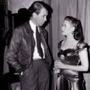 Jimmy Stewart and Yvonne De Carlo