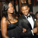 Joy Bryant and Usher Raymond
