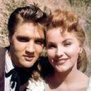 Debra Paget and Elvis Presley