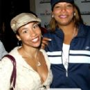 Queen Latifah and Jeanette Jenkins