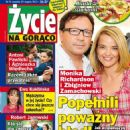 Monika Richardson, Zbigniew Zamachowski - Zycie na goraco Magazine Cover [Poland] (23 August 2012)