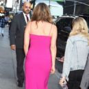 Alicia Silverstone – Seen At Late Show with Stephen Colbert in New York