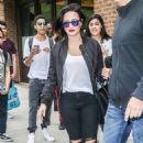 Demi Lovato Leaving Her Hotel In New York City