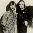 Anna May Wong and Marlene Dietrich
