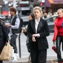 Amber Heard – Shopping in Paris