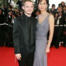 Elijah Wood and Pam Racine