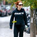 Julianne Moore - New York City Candids, 05.11.2008.