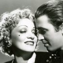 Jimmy Stewart and Marlene Dietrich